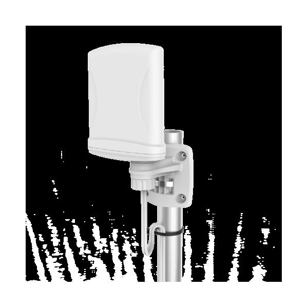Antena dookólna LTE, 790-960/1710-2700MHz, 4dBi (A-XPOL-0001)