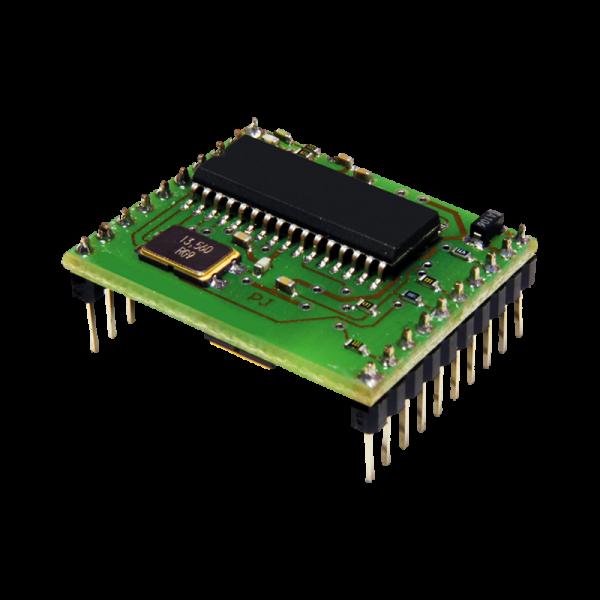 Moduł RFID, 13.56MHz, MIFARE Classic, Ultralight, DESFire, RS232TTL, THT