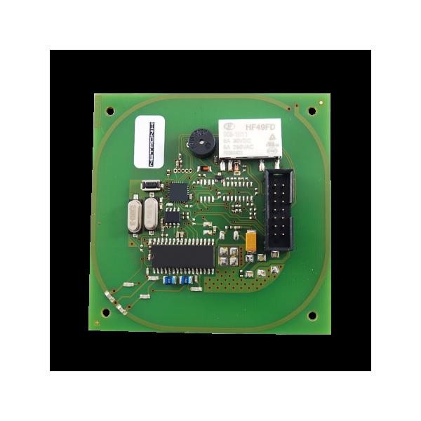 Moduł RFID, 13.56MHz, MIFARE Plus, Ultralight C, DESFire EV1, RS232, przekaźnik, buzzer