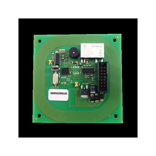 Moduł RFID, 125kHz, UNIQUE, HID, HITAG, Q5, RS232, przekaźnik