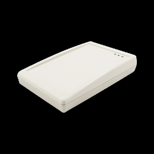 Czytnik RFID, 13.56MHz, MIFARE Plus, USB, szary