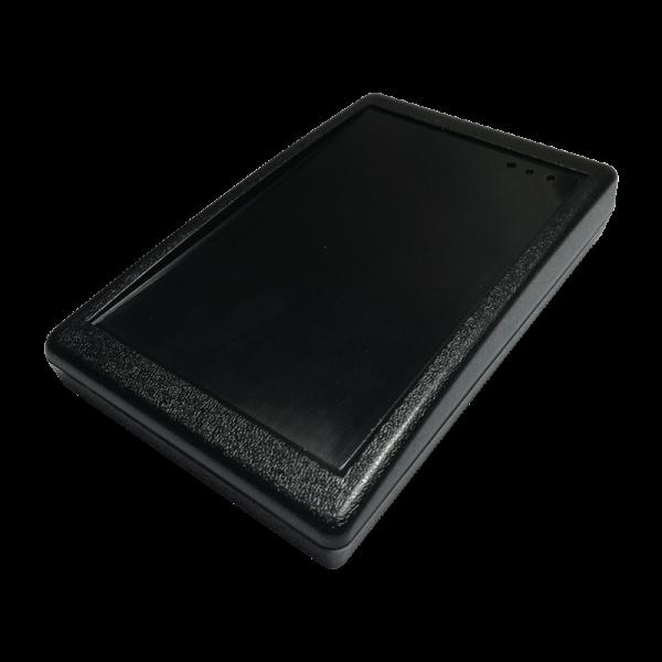 Czytnik RFID, 13.56MHz, MIFARE Plus, USB, czarny