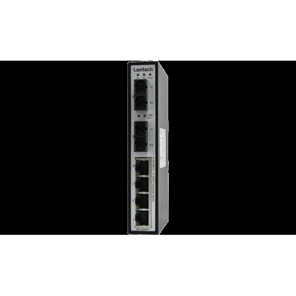 Niezarządzalny switch przemysłowy 4x10/100TX+2x100FX (SC,SM 30km) (PN 8350-341)