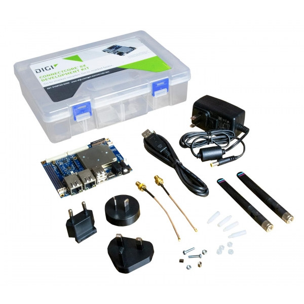 ConnectCore 8X Dev Kit Pro, QuadX, 16GB eMMC, 2GB