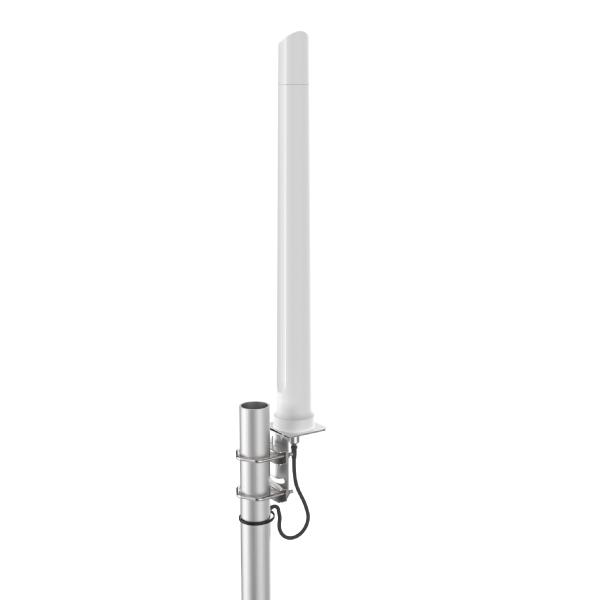 Szerokopasmowa antena dookólna LTE/Wi-Fi , 690-2700MHz, 8dBi (A-OMNI-0292-V2)