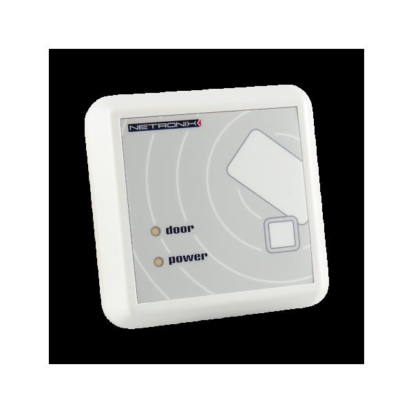 Czytnik RFID, 125kHz, UNIQUE, HITAG1, RS485, 6 I/O, przekaźnik, naścienny