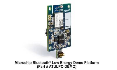 Platforma demostracyjna Bluetooth Low Power (BLE) firmy Microchip